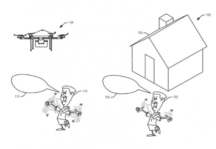 Latest Amazon Patent Includes Gesture-Recognizing Drones