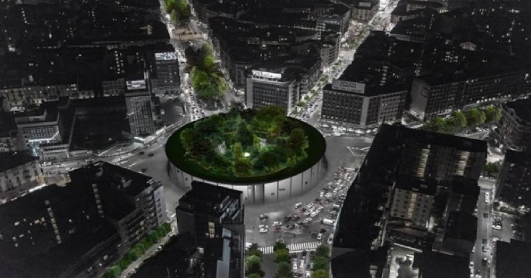 This Architectural Project Places a Stunning Hanging Garden in the Heart of Milan