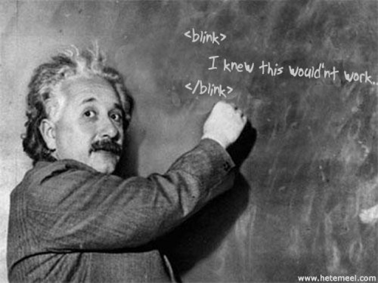myths about Einstein lefty