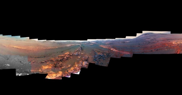 Opportunity Rover's Final Panorama Is Breathtaking