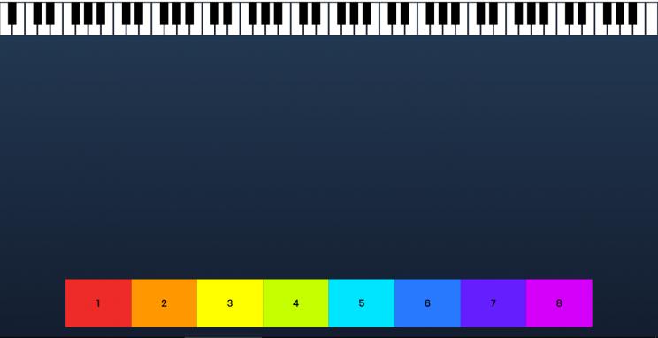 piano genie UI