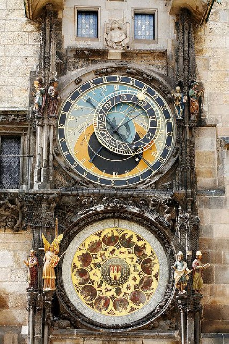Prague Astronomical Clock All