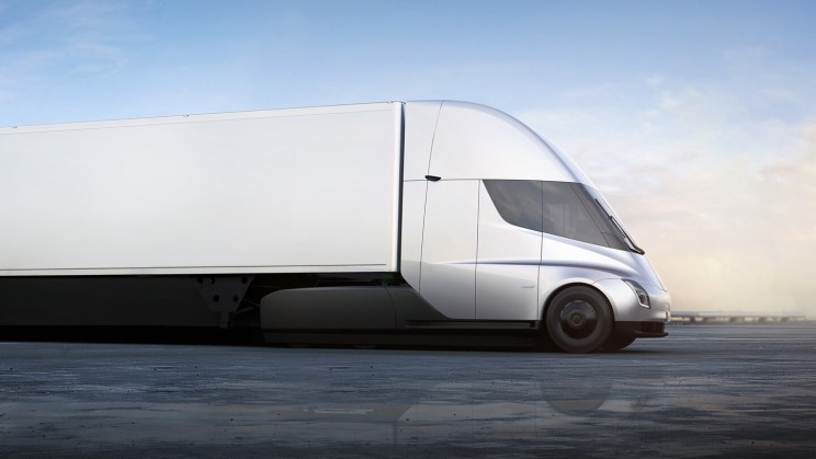 FedEx Reserves 20 All-Electric Tesla Semi Trucks for Its Freight Fleet