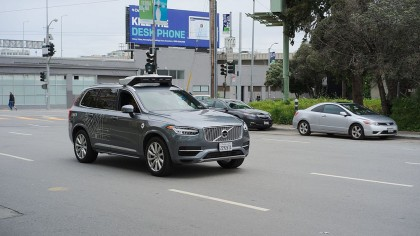 Self-Driving Uber Car Involved in Arizona Pedestrian Death
