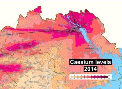 2014 Caesium levels