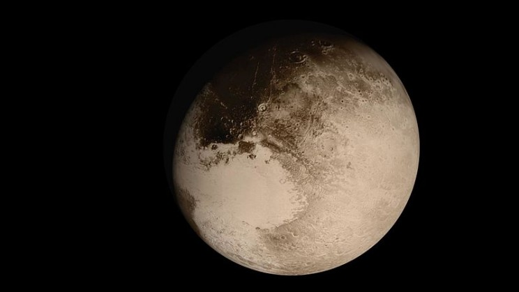 Pluto Possibly Formed from 1 Billion Comets, New Research Suggests