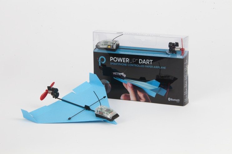 This Kit Lets You Control Paper Planes with Your Smartphone
