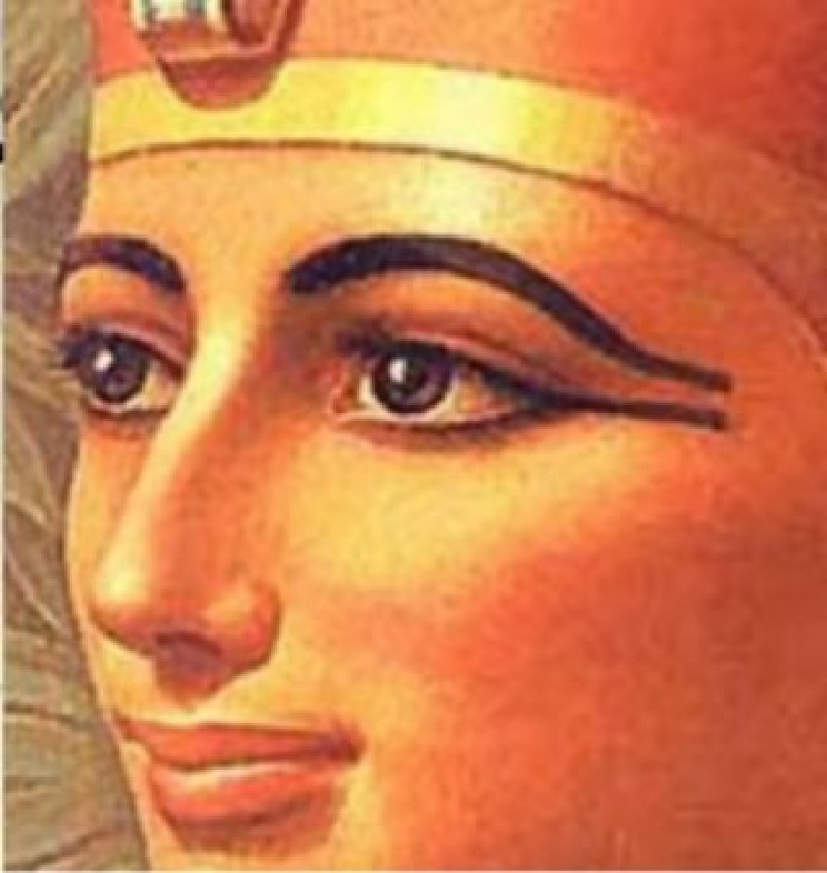Ancient Egyptian eye makeup