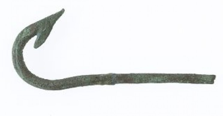 Ancient Egyptian fishing hook
