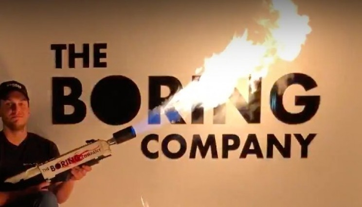 Boring Company Flamethrowers Will be Personally Delivered Starting in Two Weeks