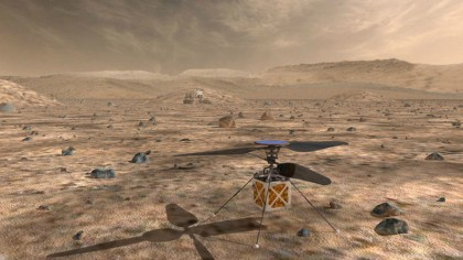NASA Announces It is Sending a Helicopter to Mars in 2020