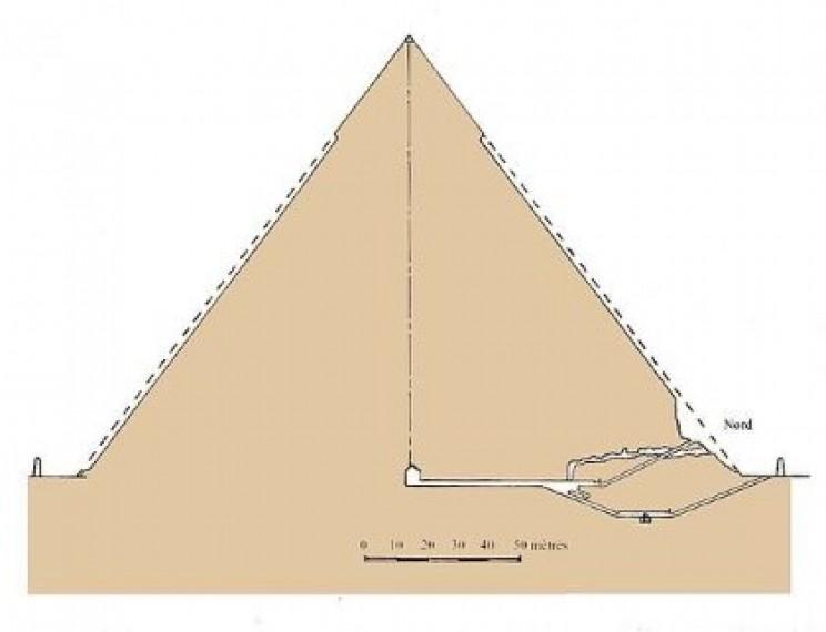 Interior Khafre's Pyramid
