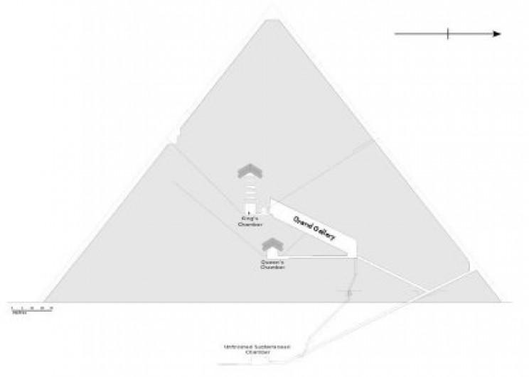 Interior Khufu's Pyramid