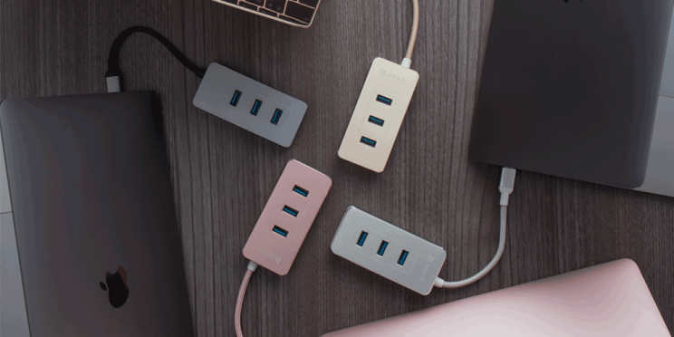 This Miniature Adapter Lets You Add Multiple Ports to Your Laptop