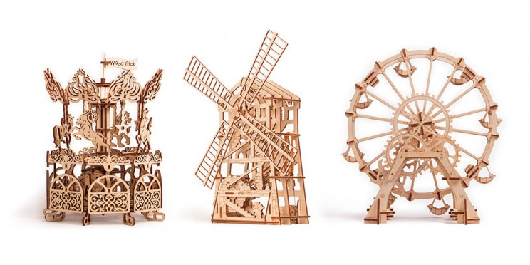 Feed Your Imagination with These Functional 3D Puzzles