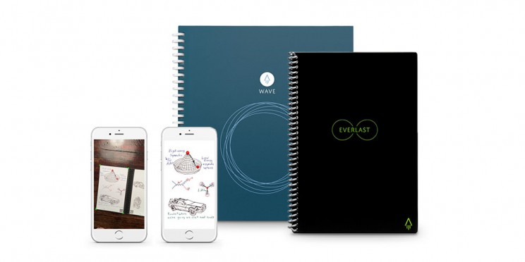 This Smart Notebook Sends Your Writing And Ideas to the Cloud