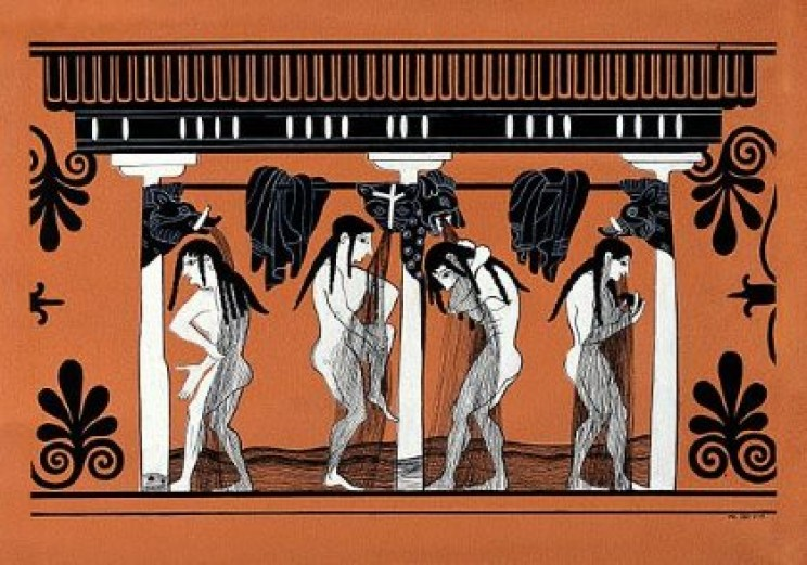 Ancient Greek shower