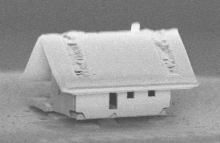 World's Smallest House is Too Small for Mites