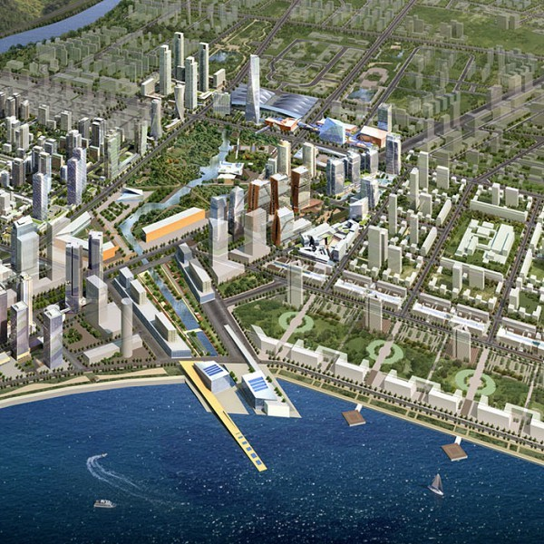 Discover Songdo, the $35 Billion South Korean City Built to Banish Cars