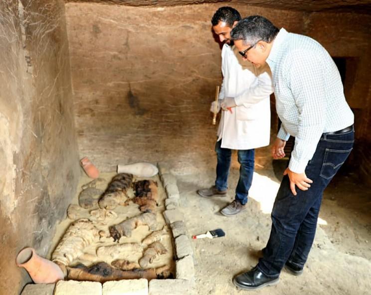 necropolis egypt mummies