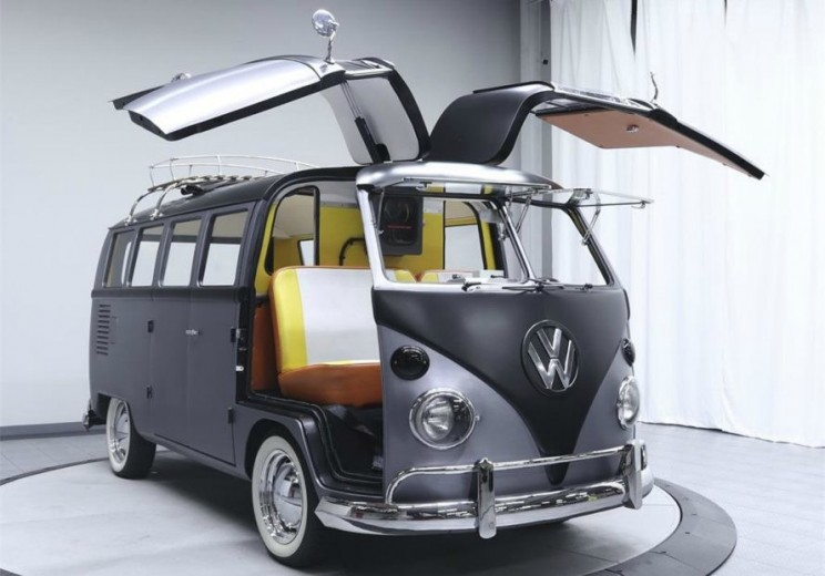 1967 Volkswagen Camper Goes from Vintage Van to 'Back to Future' Time Machine