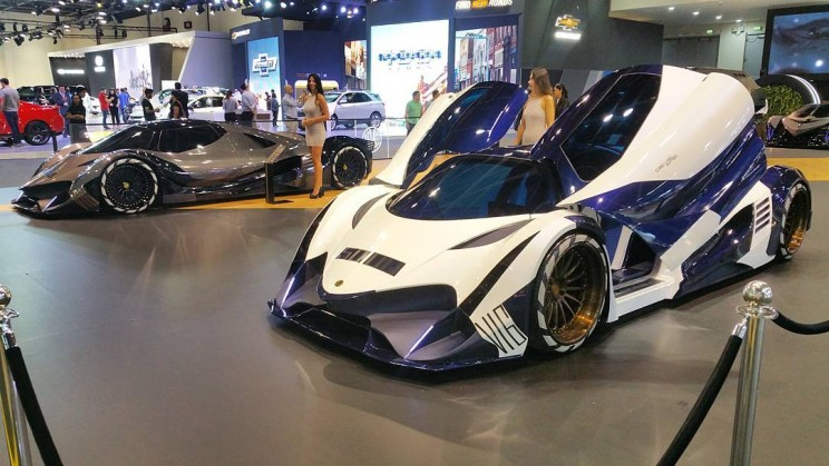 Devel Just Debuted a Prototype of the Insane 5,000-HP Devel Sixteen