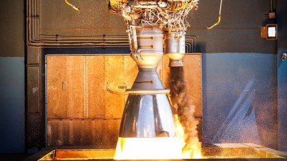SpaceX Experiences Rocket Engine Explosion During Test