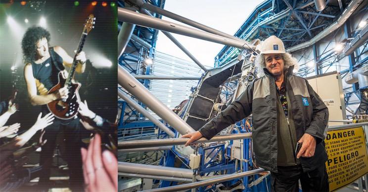 Brian May Queen Astrophysics