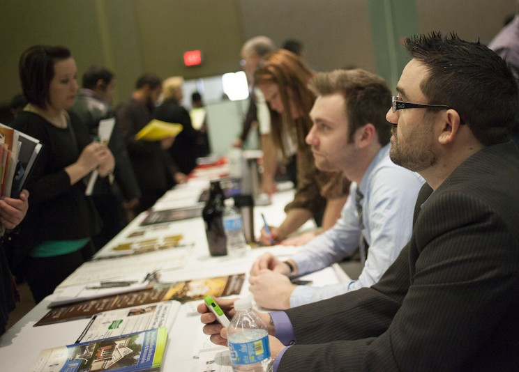 Careers fairs for engineers happen in most major cities.