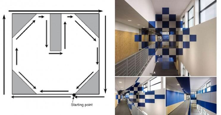 Multidata Anamorphic Illusion