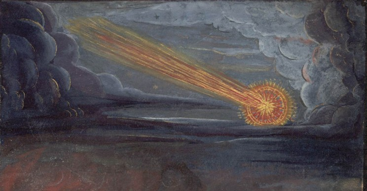 How Comets Changed the Course of Human History