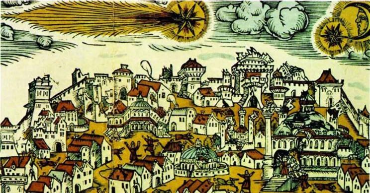 Istanbul Halley's Comet