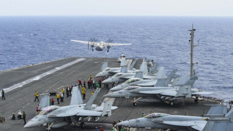 The Search Ends For Three Sailors Lost In US Navy Airplane Crash