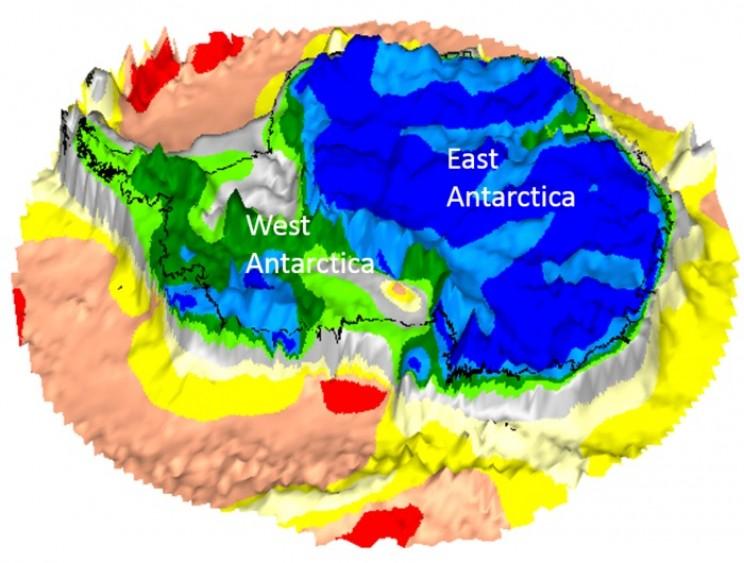 Dead Satellite Yields Fresh Data About Continents Hidden ... on green antarctica map, scott antarctica map, graham antarctica map,