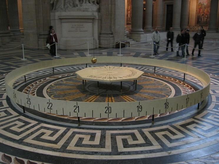 Foucault Pendulum Paris