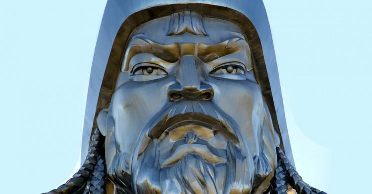 Ghengis Khan Statue