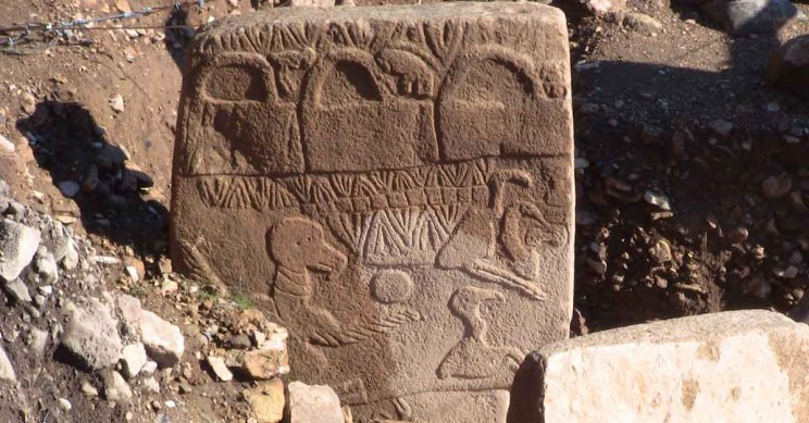 Gobekli Tepe Vulture Stone