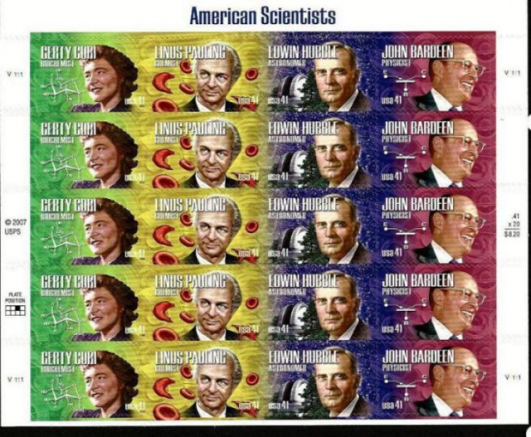 Hubble postage stamp