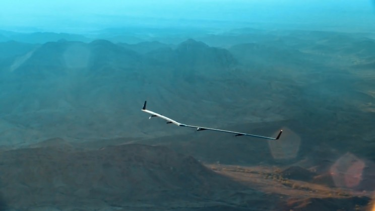 Facebook Will Showcase Its Massive Solar Drone for the First Time in London