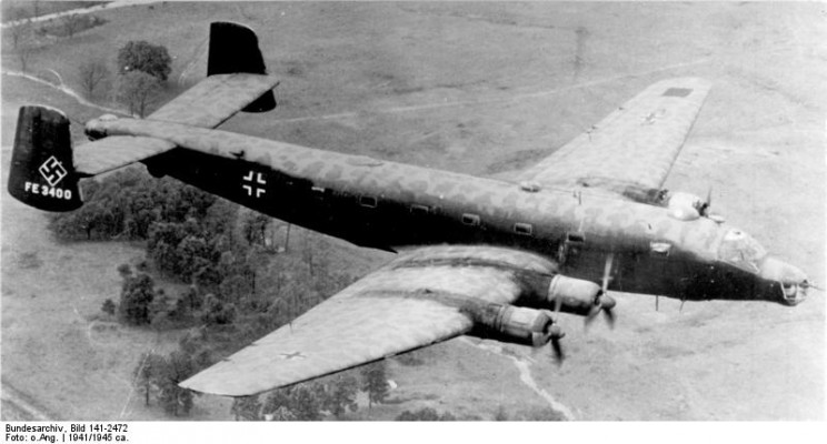 Junkers JU-390: The German Bomber That Almost Brought the Blitz to New York