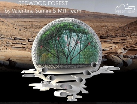 MIT Comes Up With Innovative Design for Future Martian Cities