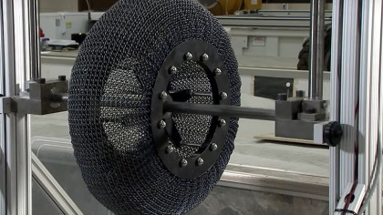 NASA Has Developed Superelastic Tires to Withstand the Rocky Terrain of Mars