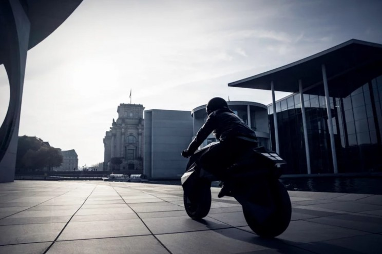 3D-Printed Electric Motorcycle Looks Straight Out of Blade Runner