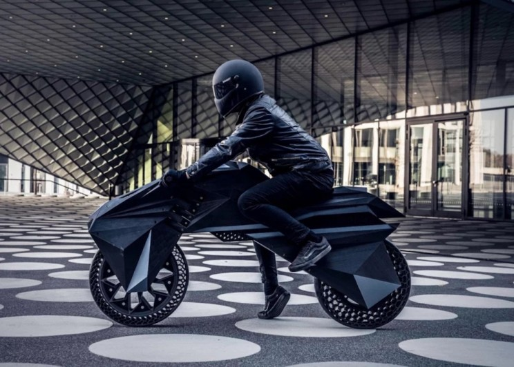 BigRep's 3D Printed Electronic Motorcycle Should Be on Your Christmas List
