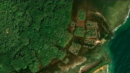 """New Satellite Images Reveal a Lost """"Floating"""" City 4,000 Kilometers from Los Angeles"""