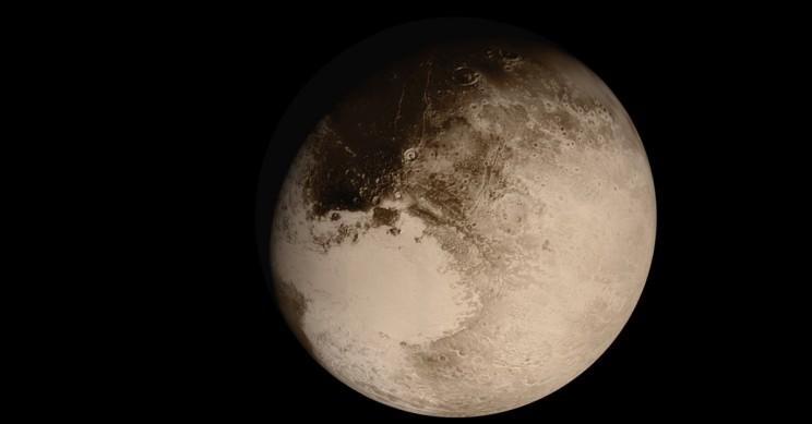 Pluto Big Heart