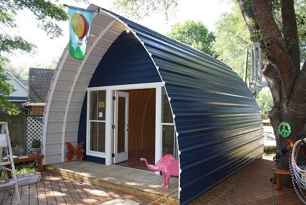 These Prefabricated Arched Cabins Offer a Sustainable Housing Alternative for Less Than $10,000