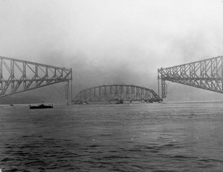 The Collapse of Quebec Bridge