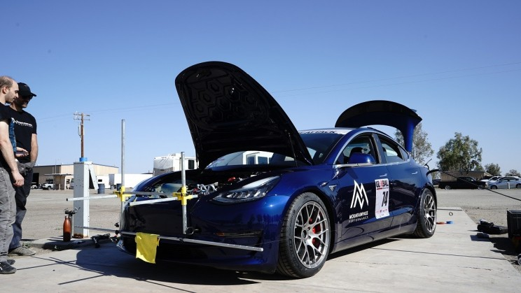 "Tesla's Model 3 ""Track Mode"" Blows Away Competition on Track Run Then Gets Disqualified"