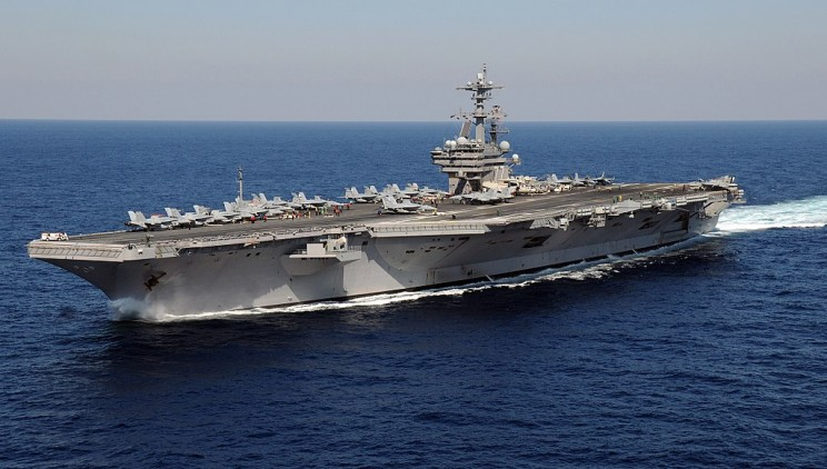 USS George H. W. Bush Aircraft Carrier